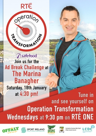 Join Operation Transformation for their Ad Break Challenges across Offaly in January & February - Banagher