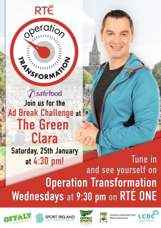 Join Operation Transformation for their Ad Break Challenges across Offaly in January & February - Clara