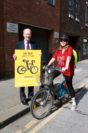 Minister Ross urges communities to 'get on their bikes' in advance of National Bike Week