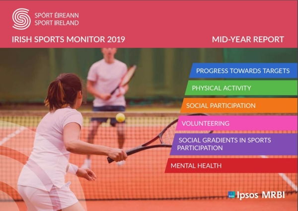 2019 Irish Sports Monitor Mid-Year Report shows good early progress towards meeting the National Sports Policy targets