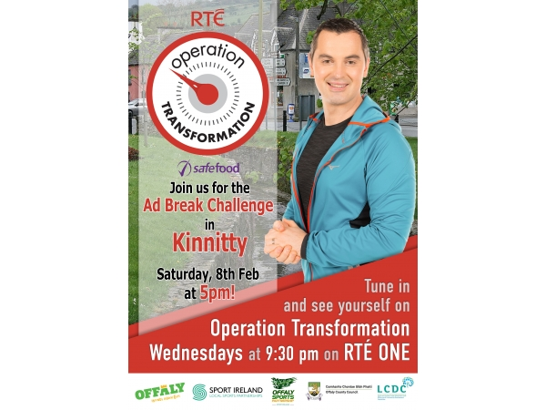 Join Operation Transformation for their Ad Break Challenges across Offaly in January & February - Kinnitty