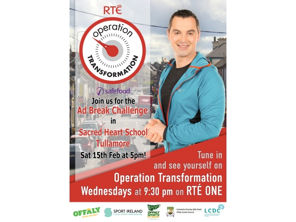 Join Operation Transformation for their Ad Break Challenges across Offaly in January & February - Tullamore