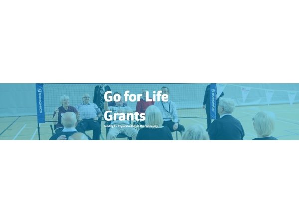 Go for Life National Grant Scheme Funding Allocations Announced