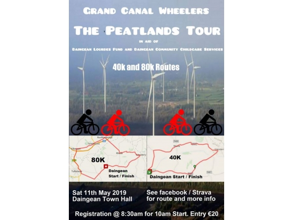 Grand Canal Wheelers Peatlands Tour