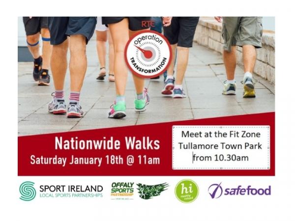 National Walk Day - Operation Transformation