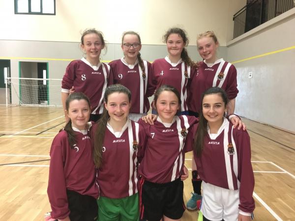 Coláiste Choilm and Sacred Heart School secure futsal success