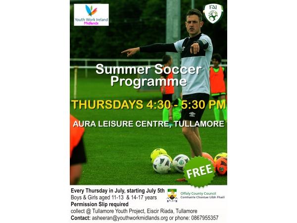 FAI summer soccer programme